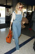 SIENNA MILLER at Los Angeles International Airport 11/17/2016