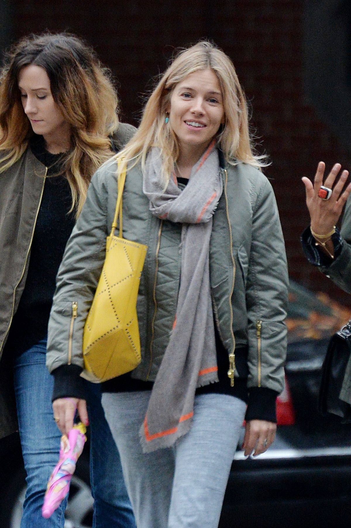 SIENNA MILLER Out and About in New York 11/09/2016