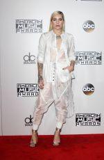 SKYLAR GREY at 2016 American Music Awards in Los Angeles 11/20/2016