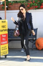 SOFIA MILOS Out and About in Beverly Hills 11/21/2016