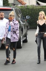 SOFIA RICHIE and NICOLA PELTZ Out in Beverly Hills 11/19/2016