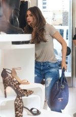 SOFIA VERGARA in Ripped Jeans Out in West Hollywood 11/04/2016