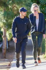 SOPHIE TURNER and Joe Jonas Out and About in Los Angeles 11/28/2016