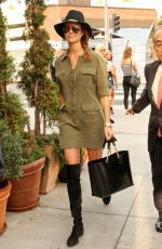 STACY KEIBLER at Via Alloro in Beverly Hills 11/15/2016