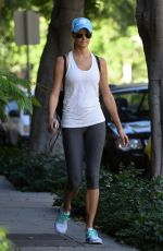 STACY KEIBLER in Leggings Out in Beverly Hills 11/3/16