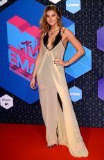 STEFANIE GIESINGER at MTV Europe Music Awards 2016 in Rotterdam 11/06/2016
