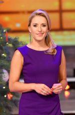 STEFANIE HERTEL at Die Grosse Show Der Weihnachtslieder 11/18/2016