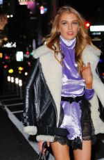 STELLA MAXWELL Out and About in New York 10/31/2016
