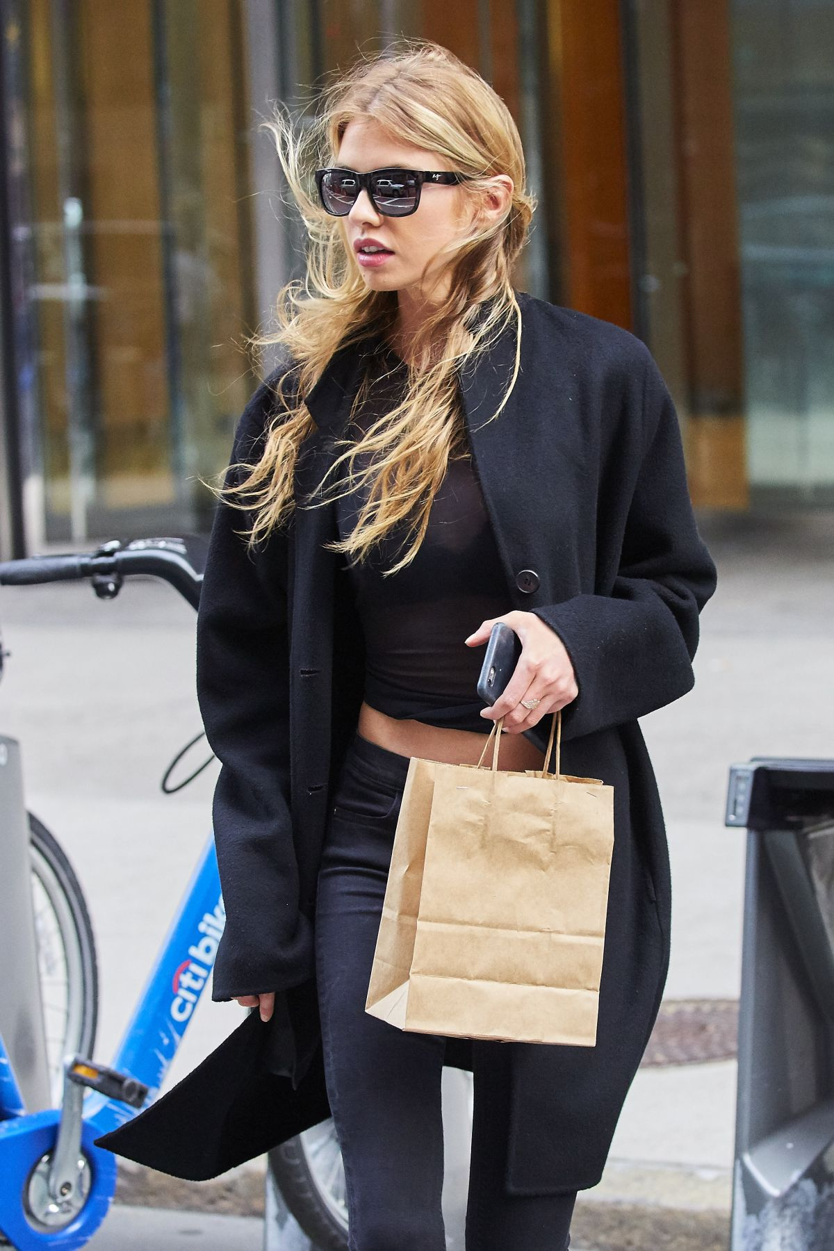 STELLA MAXWELL Out and About in New York 11/03/2016