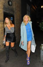 STEPHANIE PRATT Night Out in London 11/03/2016