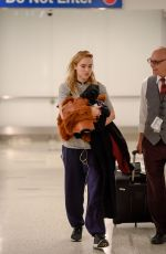 SUKI WATERHOUSE at LAX Airport in Los Angeles 11/19/2016