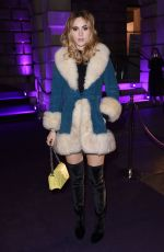 SUKI WATERHOUSE at Stuart Weitzman VIP Dinner in London 11/14/2016