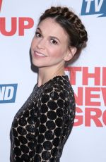 SUTTON FOSTER at Seet Charity Opening Night Afterparty in New York 11/20/2016