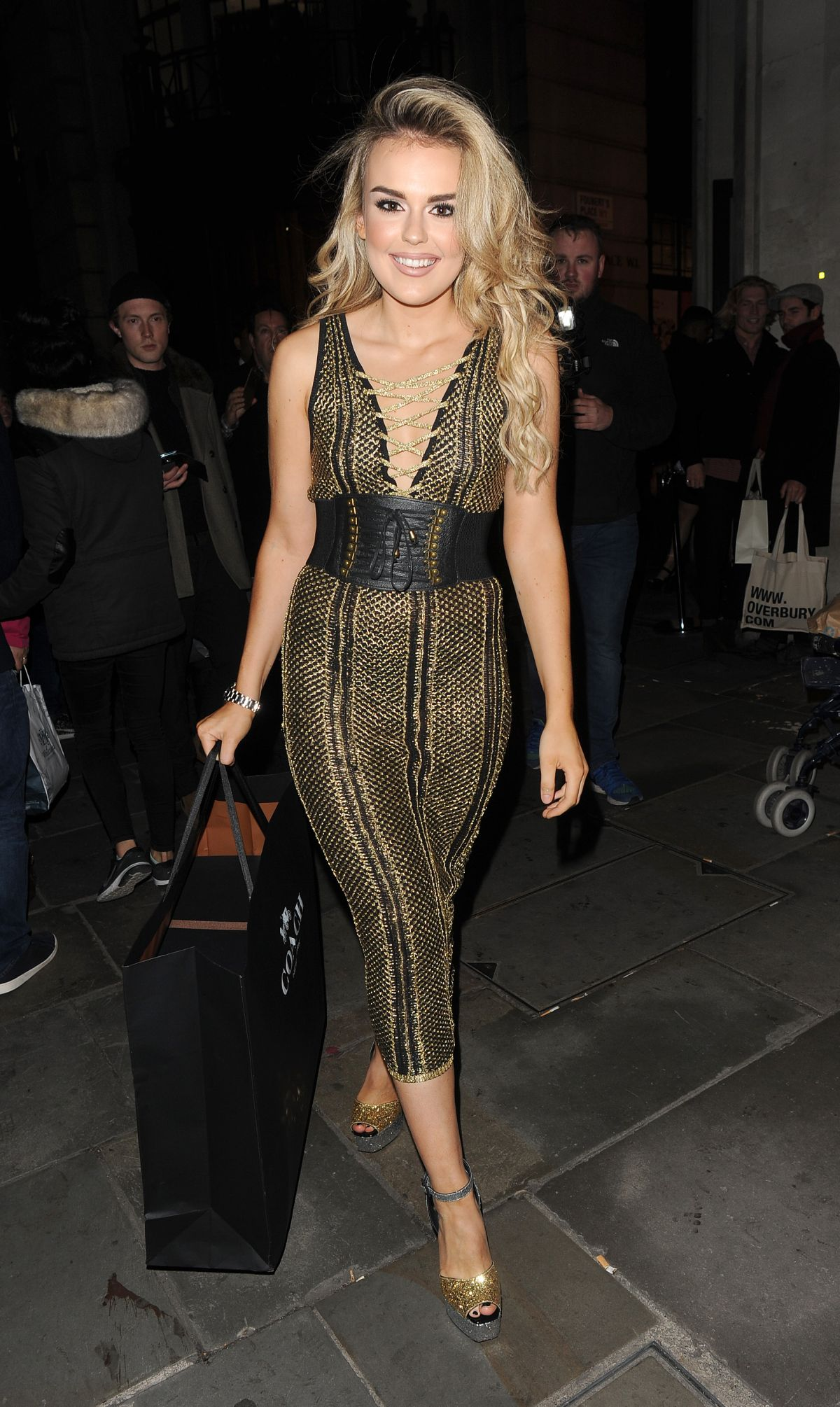 TALLIA STORM at Coach Fashion Launch Store Opening in London 11/24/2016