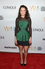 TATIANA MASLANY at 1st Annual Marie Claire Young Women's Honors in Marina Del Rey 11/19/2016