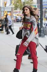 TAYLOR HILL Arrives at Victoria's Secret Fashion Show Fittings in New York 10/31/2016