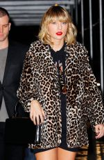 TAYLOR SWIFT Night Out in New York 11/07/2016