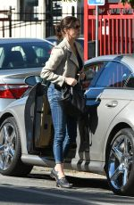 TERI HATCHER Arrives at a Gym in Los Angeles 11/02/2016