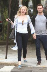 TIFFANY TRUMP and Ross Mechanic Out and About in New York 05/30/2016