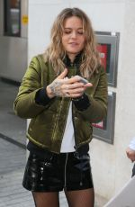TOVE LO Arrives at BBC Radio One Studios in London 11/08/2016