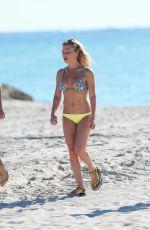 TRACY ANDERSON in Bikini at a Beach in Miami 11/19/2016