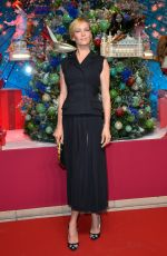 UMA THURMAN at Printemps Haussmann Store Christmas Opening in Paris 11/04/2016