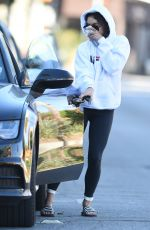 VANESSA HUDGENS Out and About in Los Angeles 11/18/2016