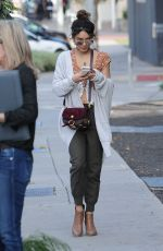 VANESSA HUDGENS Out in West Hollywood 11/07/2016