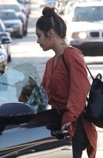 VANESSA HUDGENS Out Shopping in West Hollywood 11/01/2016