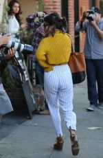VANESSA HUDGENS Out Shopping in West Hollywood 11/16/2016