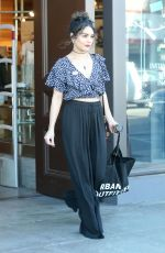 VANESSA HUDGENS Shopping at Urban Outfitters in Studio City 11/08/2016
