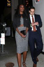 VENUS WILLIAMS at Catch LA in West Hollywood 11/12/2016