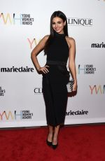 VICTORIA JUSTICE at 1st Annual Marie Claire Young Women's Honors in Marina Del Rey 11/19/2016