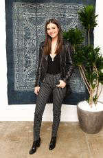 VICTORIA JUSTICE at Madewell Celebrates The Holidays in Beverly Hills 11/15/2016