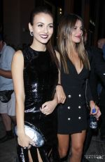 VICTORIA JUSTICE Leaves Catch LA in West Hollywood 11/10/2016