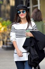 VICTORIA JUSTICE Out and About in New York 11/02/2016