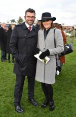 VICTORIA PENDLETON at Hennessy Gold Cup at Newbury Racecourse 11/26/2016
