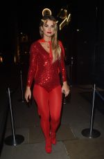 VOGUE WILLIAMS at M Restaurant Halloween Fete Party 10/29/2016