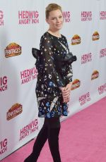 ELIZABETH BANKS at Hedwig and the Angry Inch Opening Night in Hollywood 11/02/2016
