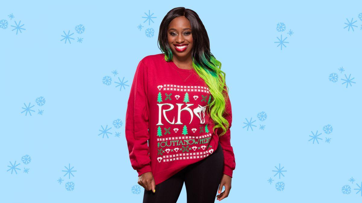 WWE - Christmas Sweaters Photoshoot - HawtCelebs - HawtCelebs