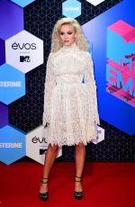 ZARA LARSSON at MTV Europe Music Awards 2016 in Rotterdam 11/06/2016