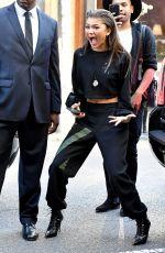 ZENDAYA Arrives at Her Daya by Zendaya Pop-up Shop in New York 11/05/2016