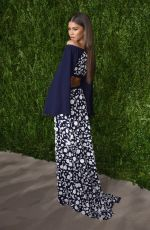 ZENDAYA COLEMAN at 13th Annual CFDA/Vogue Fashion Fund Awards in New York 11/07/2016