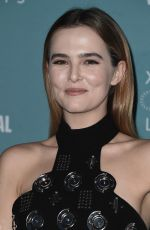 ZOEY DEUTCH at Celebrity Tribute at Lincoln Theater in Yountville 11/10/2016
