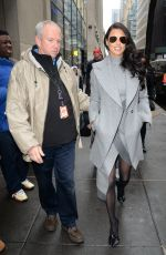 ADRIANA LIMA Leaves Today Show in New York 12/05/2016