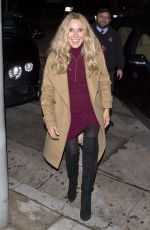 ALANA STEWART Out for Dinner in West Hollywood 12/22/2016
