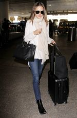 ALESSANDRA AMBROSIO at LAX Airport in Los Angeles 12/04/2016