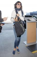 ALESSANDRA AMBROSIO at Los Angeles International Airport 12/17/2016