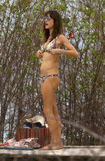 ALESSANDRA AMBROSIO on the Beach in Florianópolis 12/21/2016