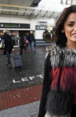 ALESSIA MACARI at Airport in Dublin 12/23/2016